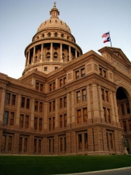 The Texas Capitol, where Donna Campbell tries to work her special magic. It is amazing she can get a visitor's pass, let alone try to write laws. Photo Credit: aswinkb via  Wikimedia Commons