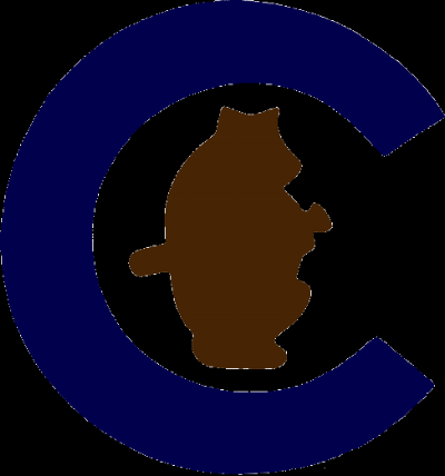 The Chicago Cubs Logo, circa 1914. Image via WikiMedia commons in the  public domain .