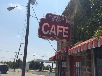 The Whistle Stop Cafe in Decatur. Photo Credit: M'Lissa Howen.