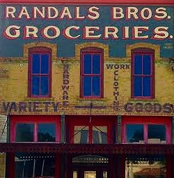 One of the many great buildings in downtown Hico. Photo Credit: M'Lissa Howen.