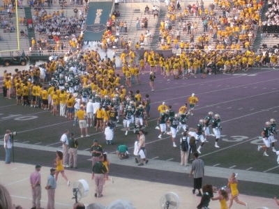 Today is not the end of the Baylor Line. Photo via  Wiki Media