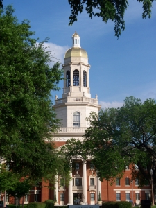 """Any of M'Lissa's students can tell you about the oldest university in continuous existence in Texas. """"Baylor Pat Neff 2"""" by Brentsalter - Own work. Licensed under CC BY-SA 3.0 via  Wikimedia Commons -"""