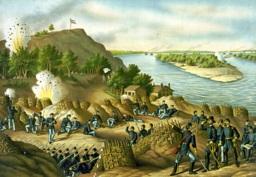 The Bluff at Vicksburg. Image Credit: Wiki Commons (Public Domain.).