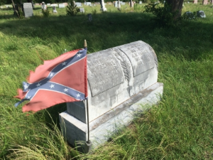 A Confederate veteran and his wife. Photo credit: Steve Howen