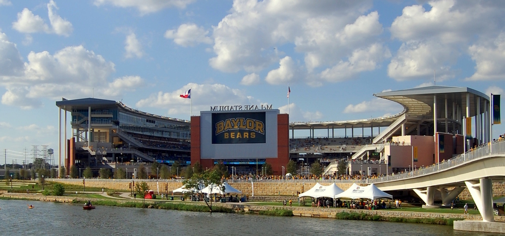 Baylor's McLane Stadium might have some empty seats this year. Photo via  WIKI Media