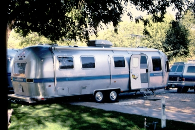 Gerry and Russell loved their Airstream only slightly less than their children.