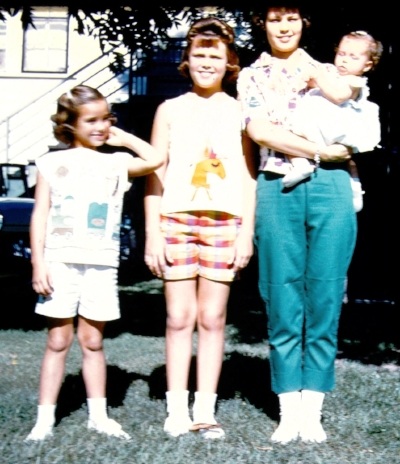 Baby M'Lissa and her sisters.