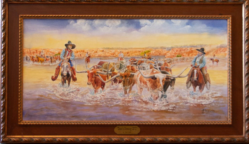 Jack Moss paints West Texas as he knows it.
